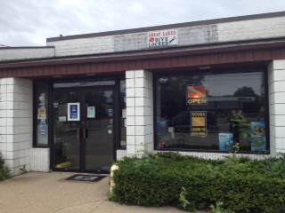Great Lakes Dive Locker store front