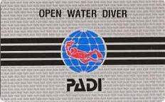 Open Water Card