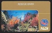 Rescue Diver Card