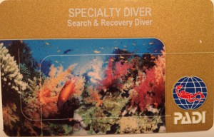 Search & Recovery Card