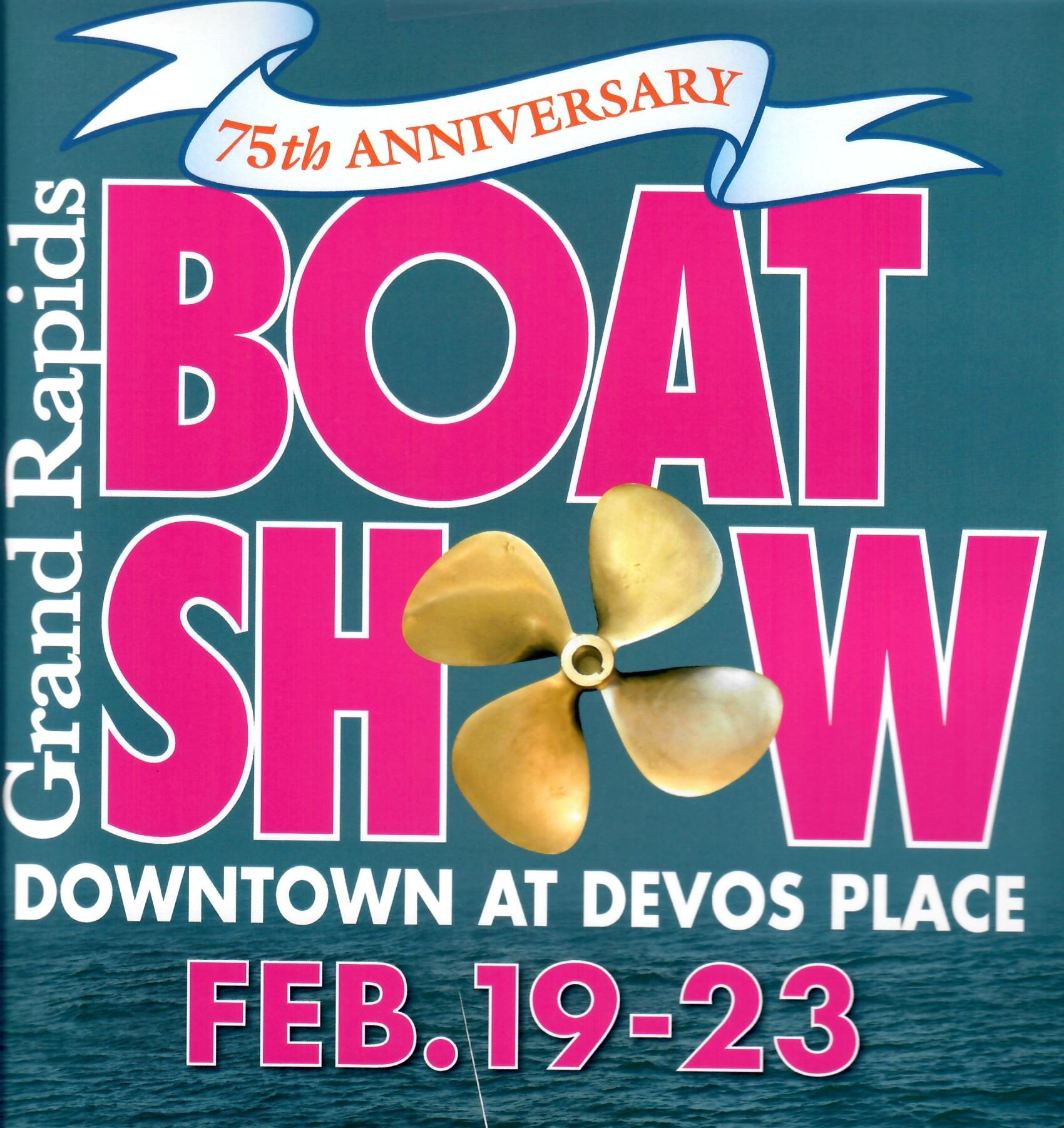 Grand Rapids Boat Show's 75th Anniversary